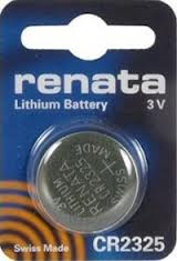 Solo/Optima/Visio Batteries BR2325/CR2325 3V (set of 2)