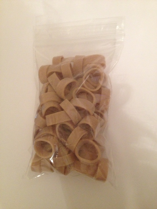 Large Packing Rubber Bands - 50g bag - Click Image to Close