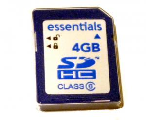 4 Gb SDHC 4GB Class 6 SD Card Flash Memory